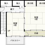 伊那市富県 ≪民家貸家≫ 6DK 小学校そばの大きな貸家です