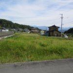 伊那市小沢 【売 地】 小沢川北側