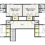 2Aは2室共洋間です。