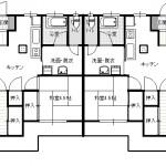 和室を1間洋間に変更してあります。